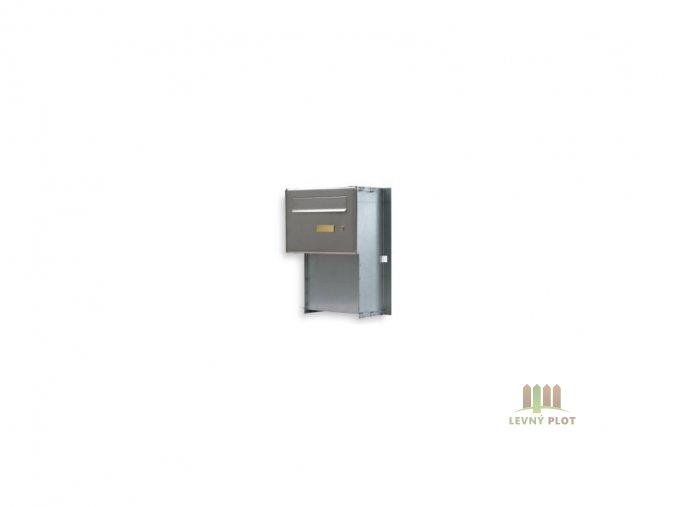 Poštovní schránka PSD 200 2xzvonek,2xjmenovka