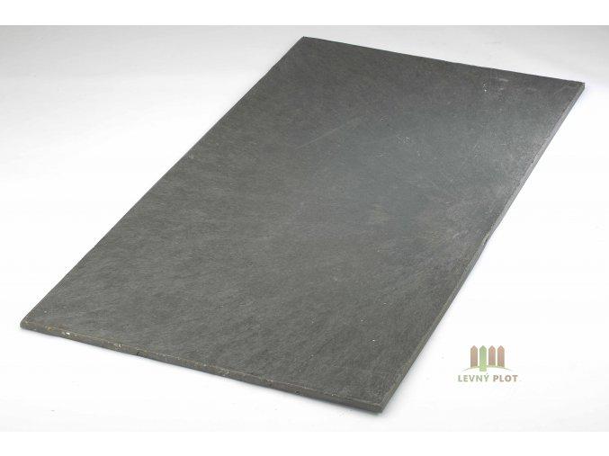 Recyklátová deska hladká 2000x800x20 mm,hnědá