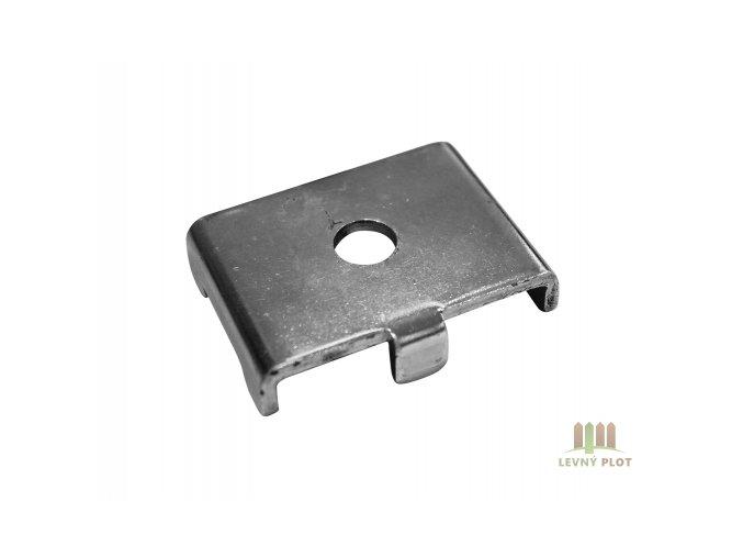 Úchyt panelu Classic,Super kovový na jeklový sloupek, Zn