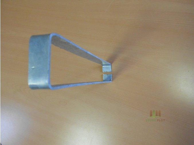 Úchyt pletiva k podhrabové desce 20 cm