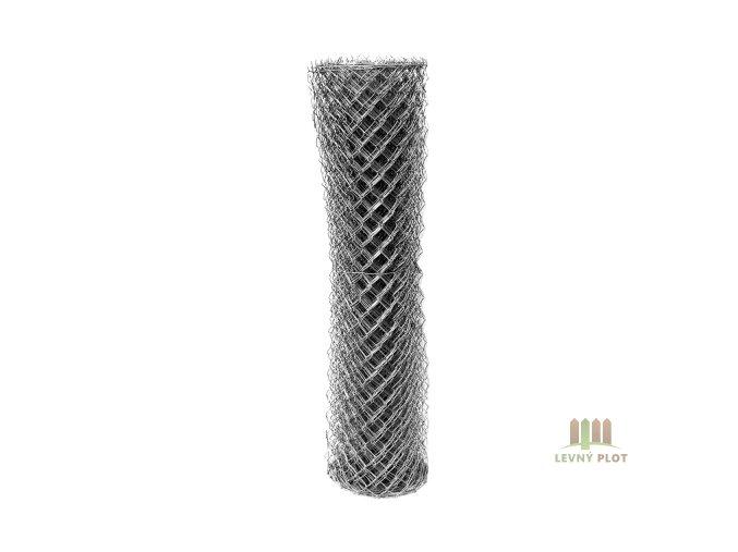 Pletivo pozinkované IDEAL zinkované/2,0mm/oko 55x55/15m se zapleteným napínacím drátem (výška: 2000 mm)