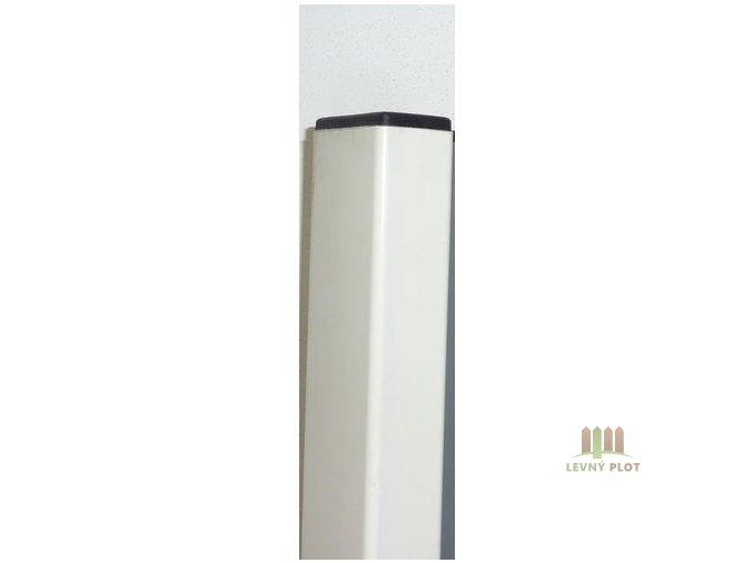 Sloupek DAMIPLAST® 60/60/1,5/6000 Zn+PVC bílý