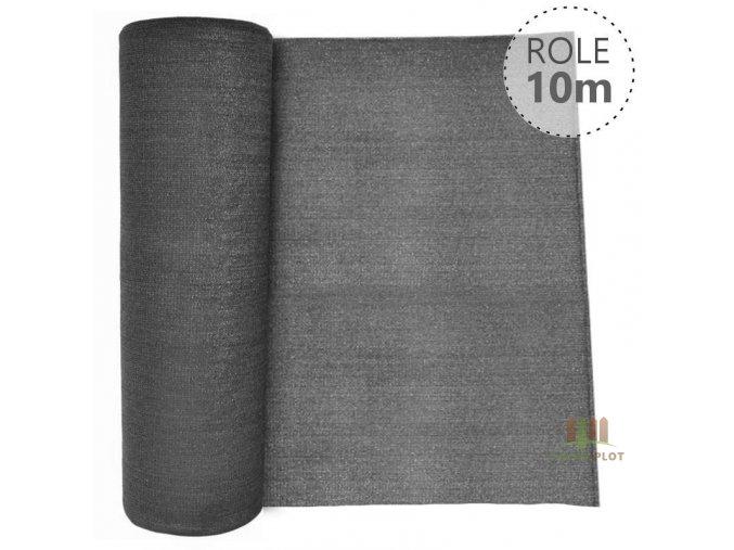 Stínící tkanina 100% - 230 g/m2 - role 10 m, barva ANTRACIT
