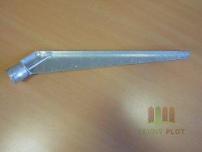Bavolet Zn jednostranný pro průměr sloupku 48 mm