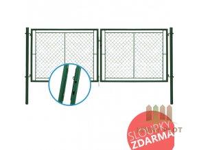 Brána IDEAL II, OKO, šířka 3021 mm x výška dle výběru