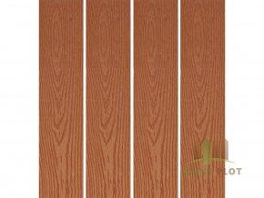 Dřevoplast WPC hladká/dřevo 85x13x délka dle výběru, barva: zlatý dub