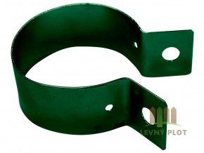 Objímka zelená 60 mm vč. šroubu M8x25 + matka