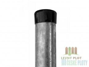 Plotový sloupek zinkovaný, průměr 48mm, síla stěby 1,5mm, výška dle výběru