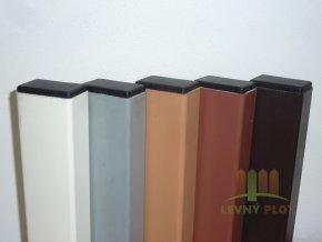 Poplastovaný nosník 50x30x1,8 mm x délka na míru (Povrchová úprava: Zn + poplast šedý)