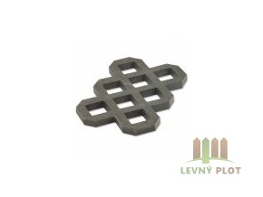 Recyklát zatravnovací dlažba Lite 60x40x4cm,šedá