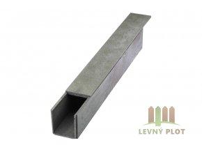 Recyklát žlab střední 130x130 mm, délka 120 cm