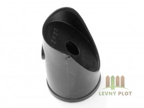 Úchyt vzpěry PVC 38 mm vč.spoj.materiálu, černá
