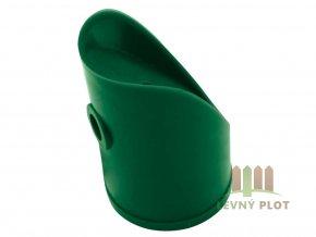 Úchyt vzpěry PVC 38 mm, zelená