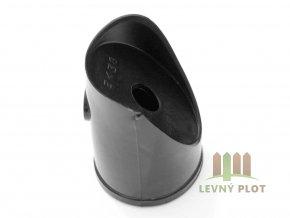 Úchyt vzpěry PVC 48 mm, černá