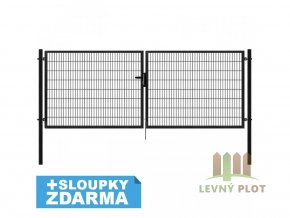 Branka Pilofor Super šířka 1094mm, svařovaný panel 50x200mm, FAB, antracit