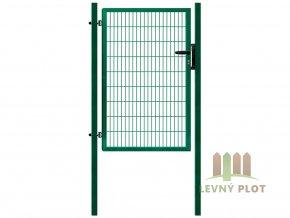 Branka Pilofor Super š.1089 mm x v. dle výběru, se zámkem, Zn+PVC zelená (Výška v mm: 1980 mm)