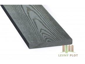 DAMIWPC plotovka 120x15x různé délky mm, šedé dřevo broušené