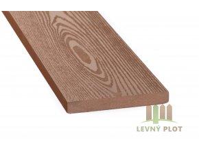 DAMIWPC plotovka 120x15x různé délky mm, tmavé dřevo broušené