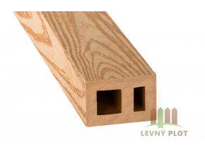 DAMIWPC hranol 60x40x různé délky mm, světlé dřevo broušené