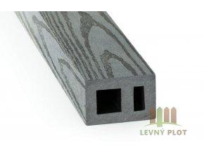 DAMIWPC hranol 60x40x různé délky mm, šedé dřevo broušené