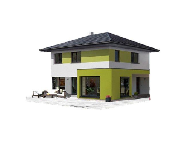 PENB - RD vícepodlažní do 250 m2 obytné plochy