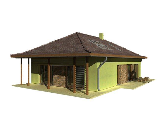 PENB - RD jednopodlažní od 100 m2 do 250 m2