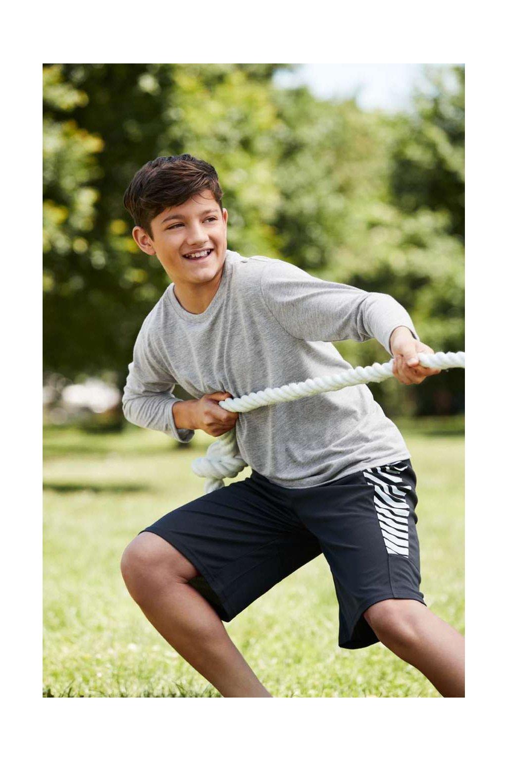 Dětské funkční tričko s dlouhými rukávy PERFORMANCE