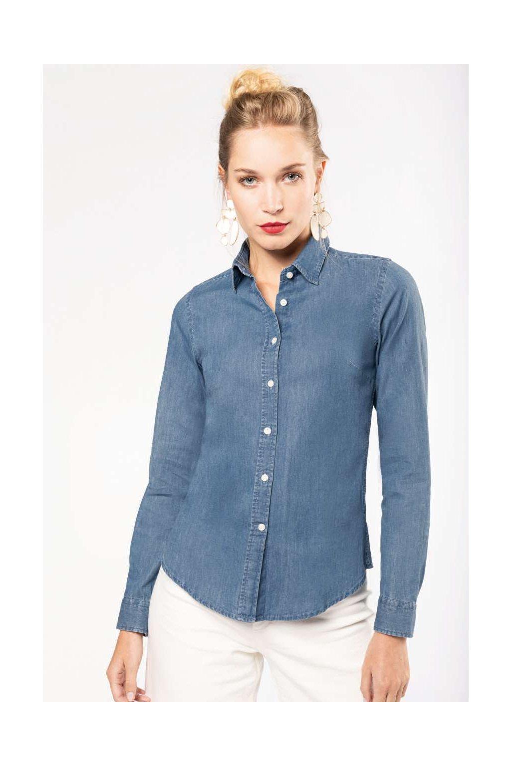 Dámská džínová košile Kariban