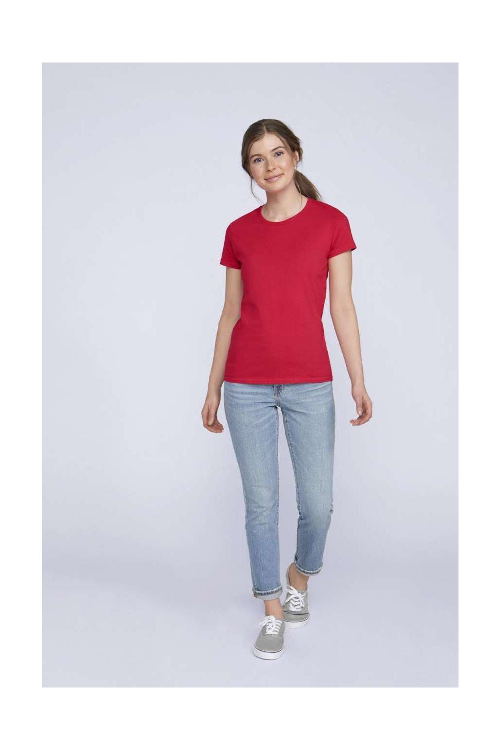Dámské bavlněné tričko PREMIUM