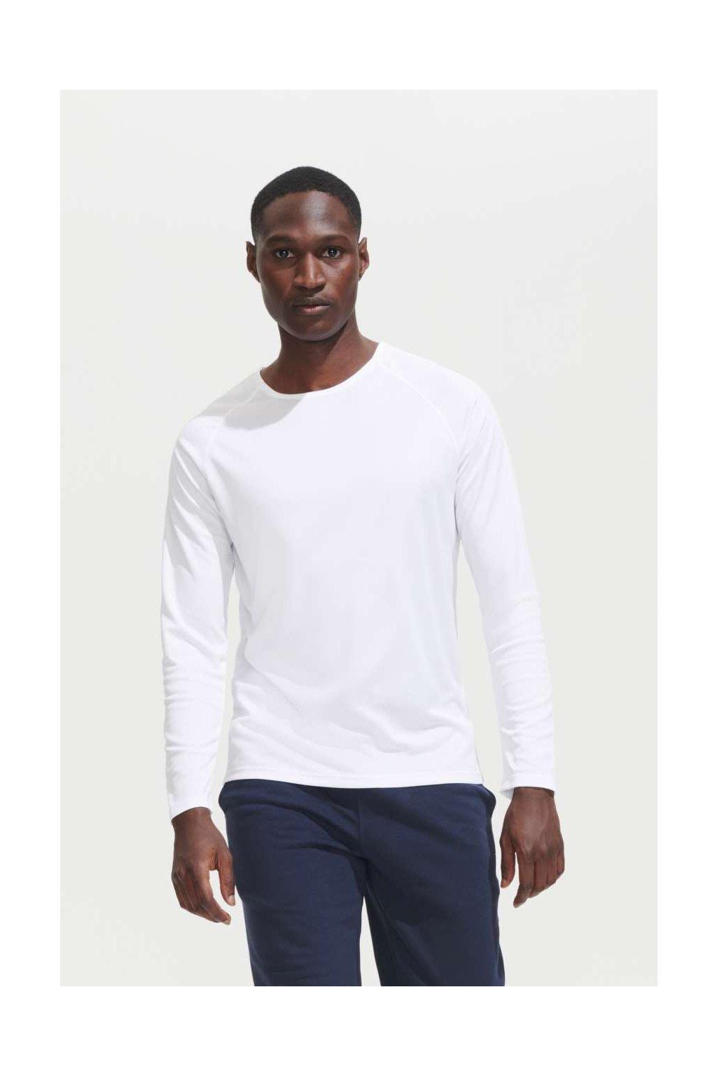 Pánské funkční tričko s dlouhými rukávy SPORTY