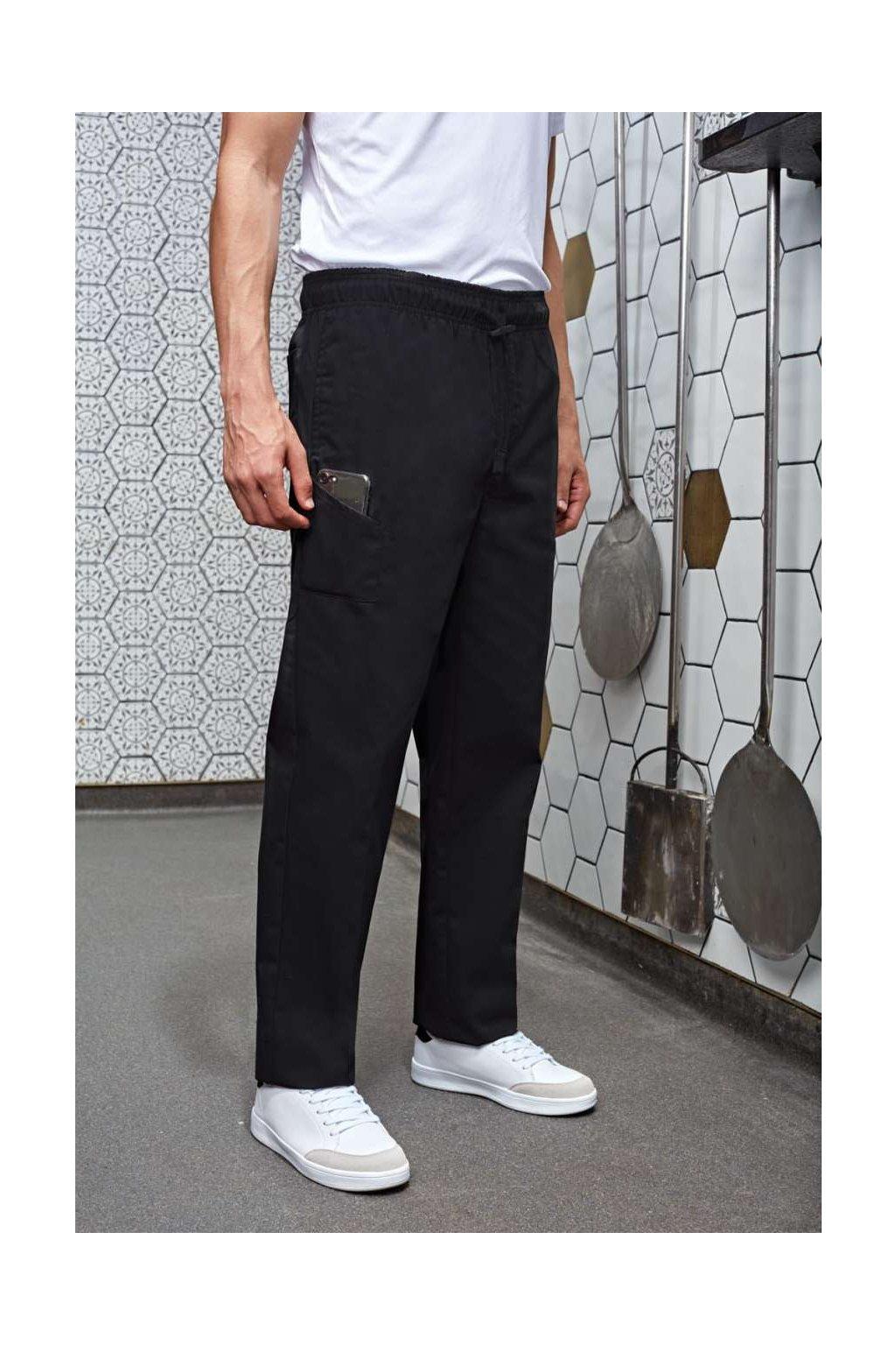 Kuchařské úzké kalhoty CHEF
