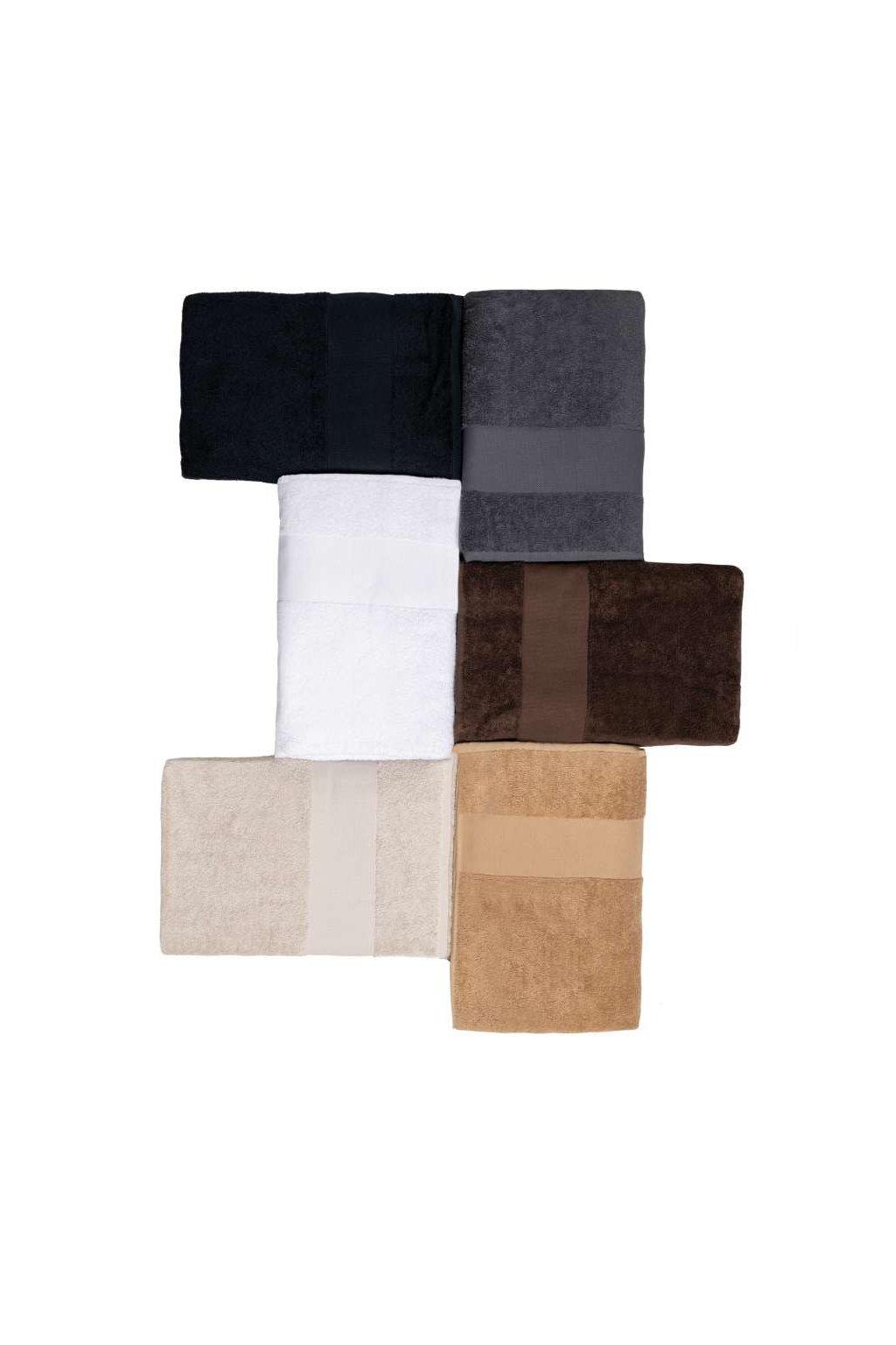 Unisex bavlněný ručník Kariban