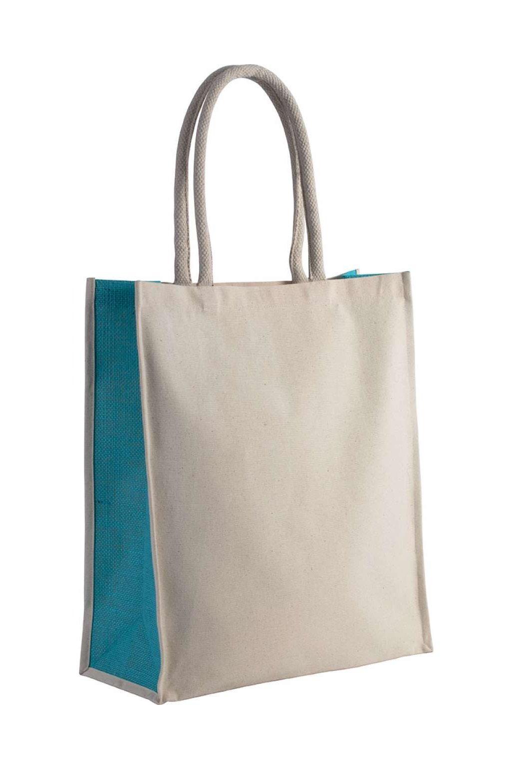 Kontrastní bavlněná taška YOKE