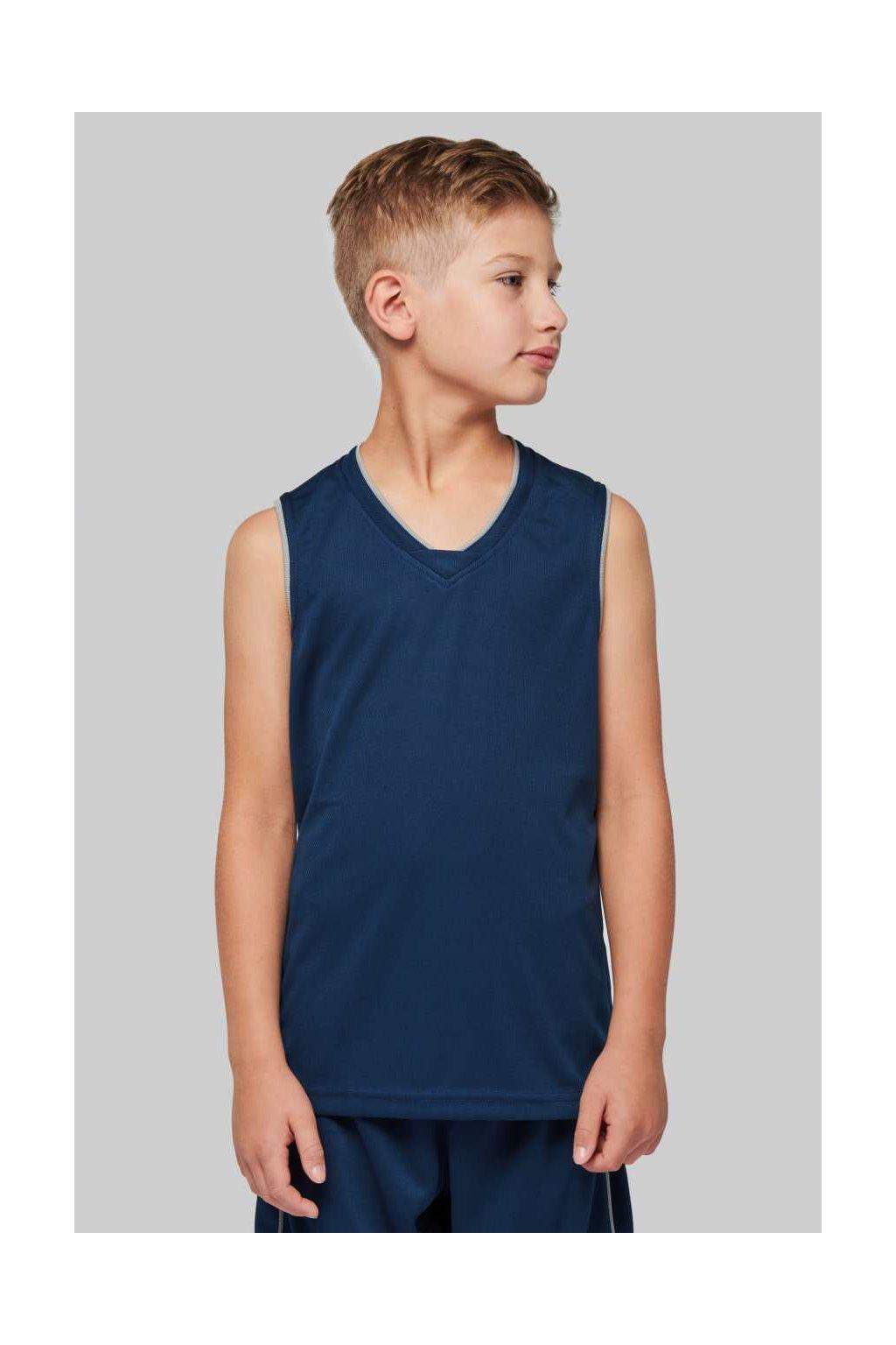 Dětský basketbalový dres JERSEY