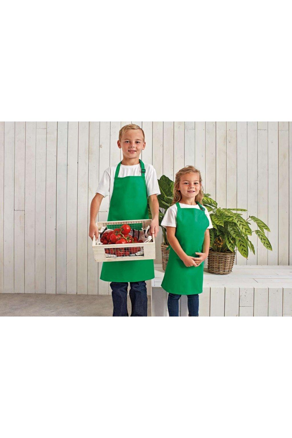 Dětská kuchařská zástěra Premier