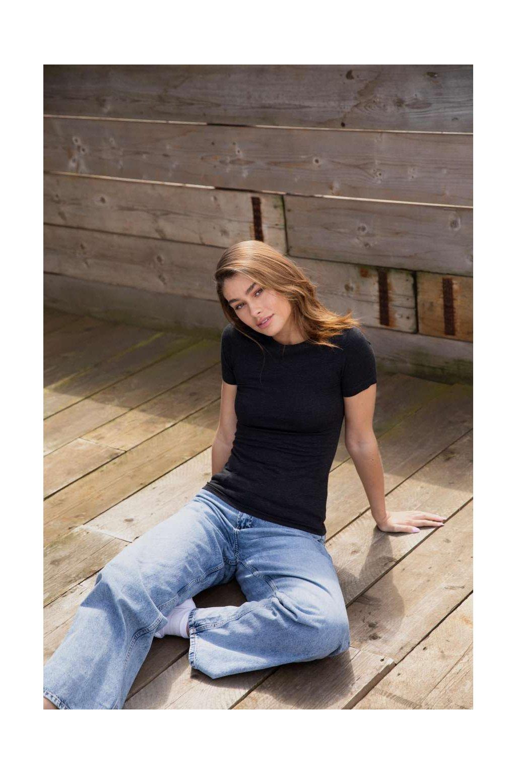 Dámské tričko TRI-BLEND Just Ts
