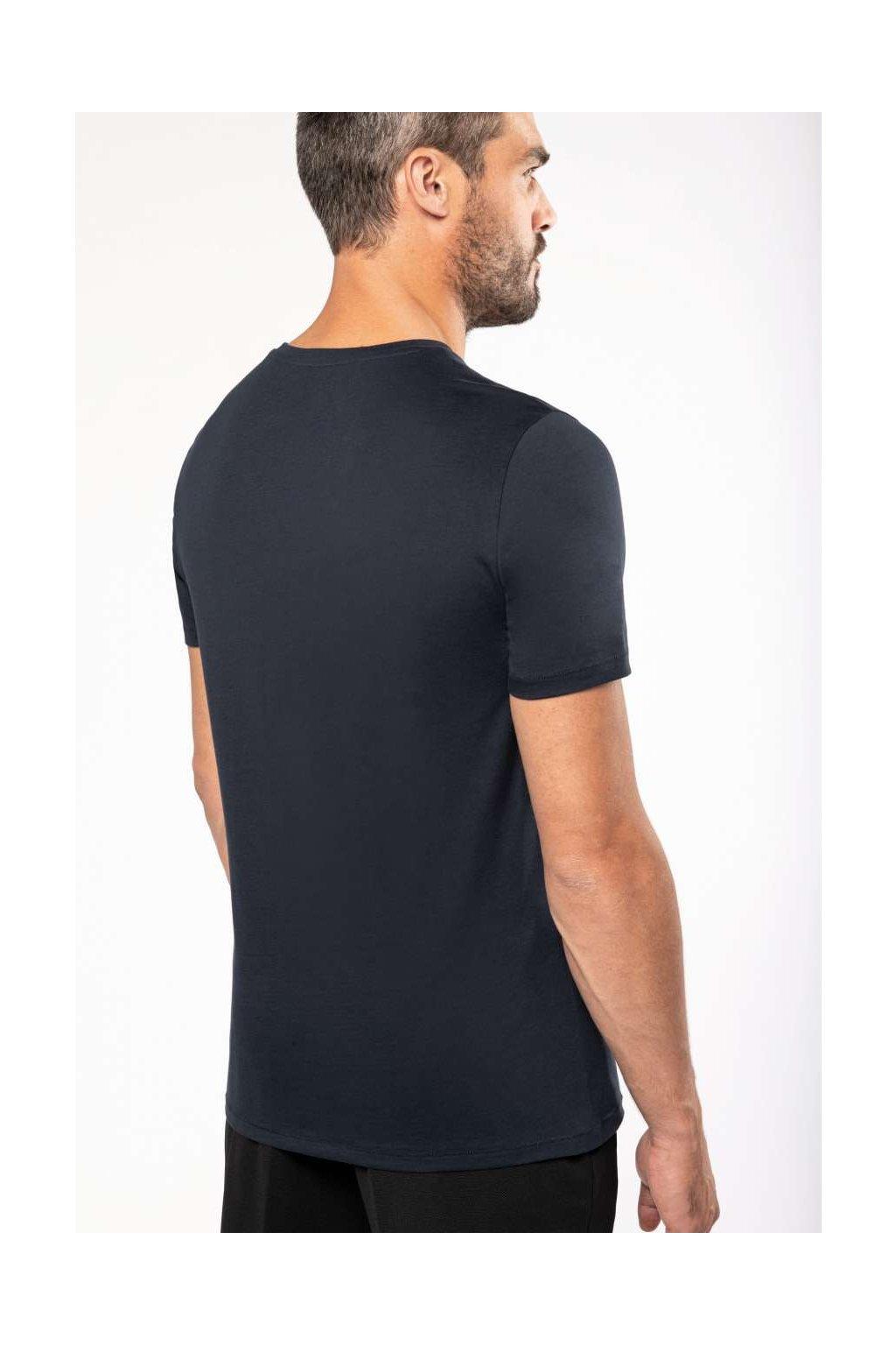 Pánské bavlněné tričko do V SUPIMA Kariban