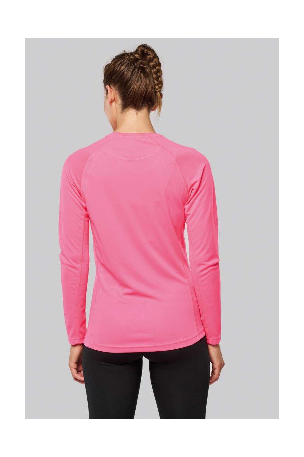 Dámské sportovní tričko s dlouhým rukávem AQUA