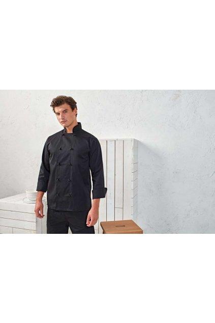 Elegantní kuchařský kabát unisex