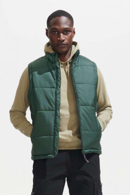 Pánská prošívaná vesta WARM
