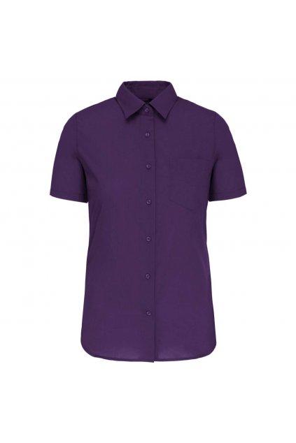 Dámská košile s krátkým rukávem a kapsou Kariban