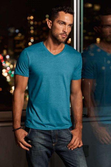 Pánské tričko do V TRI-BLEND