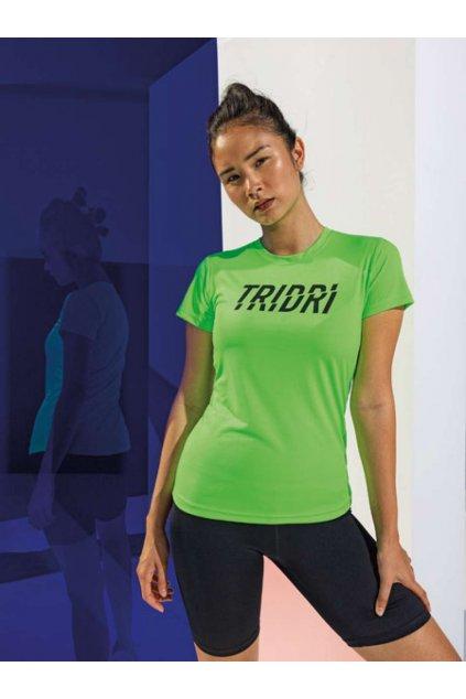 Dámské sportovní tričko Tridri