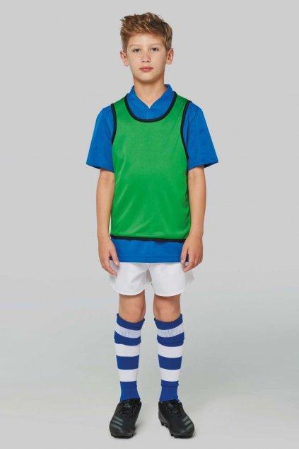 Dětský oboustranný rozlišovací dres RUGBY BIB