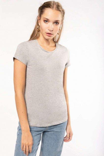 Dámské tričko s elastanem Kariban