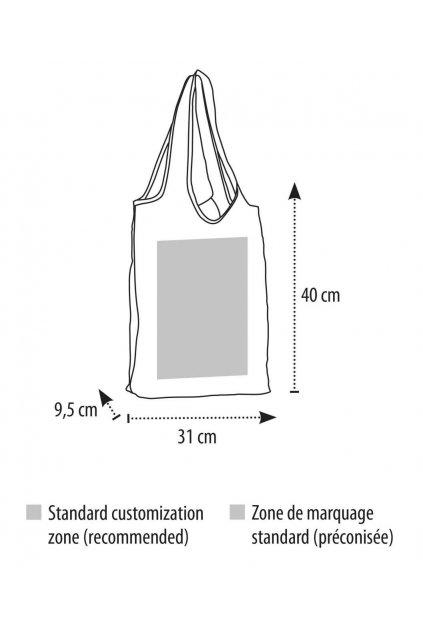 Lehká polyesterová nákupní taška PIX
