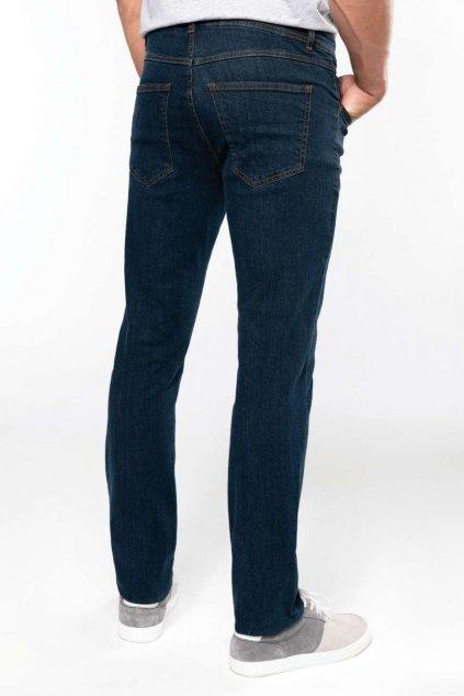 Pánské basic džíny modré Kariban
