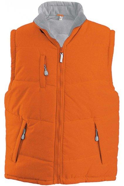 Prošívaná fleecová vesta Alaska