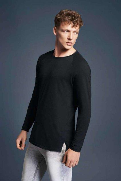 Pánské tričko s dlouhým rukávem Anvil