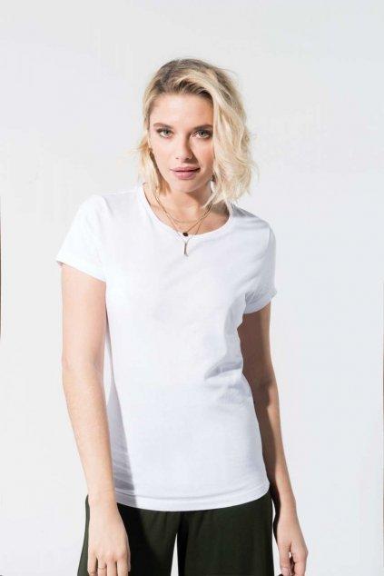 Dámské pohodlné tričko z BIO bavlny Kariban